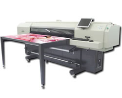 Hybrid UV Flatbed Printer